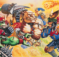 Blood Bowl Cover Art